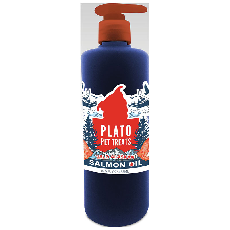 Plato Wild Salmon Oil 15.5 oz. I014215