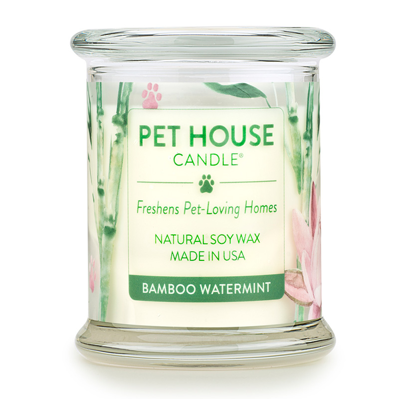 Pet House Candles Bamboo Watermint I014218