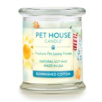 Pet House Candle Sunwashed Cotton I014219