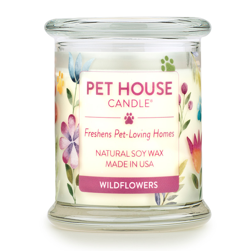 Pet House Candle Wildflower I014229