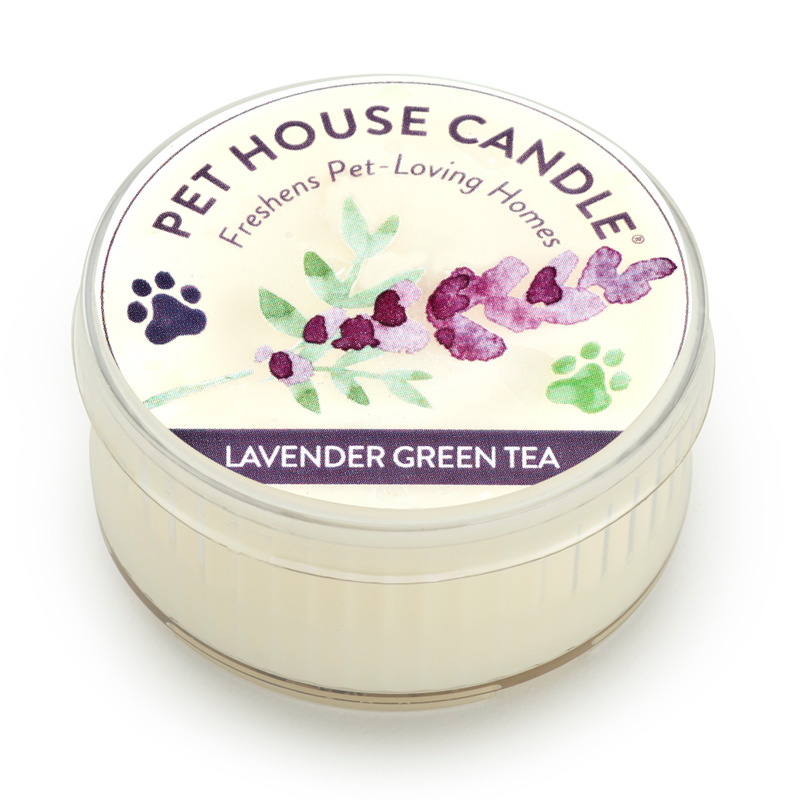 Pet House Mini Candle Lavender Green Tea I014232