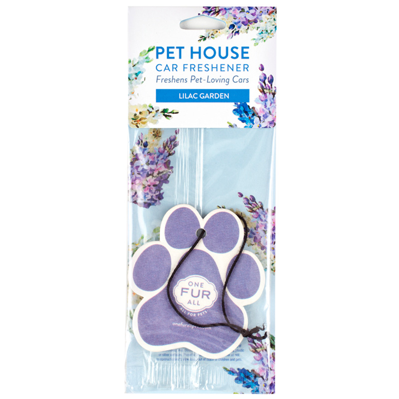 Pet House Car Freshener Lilac Garden I014238