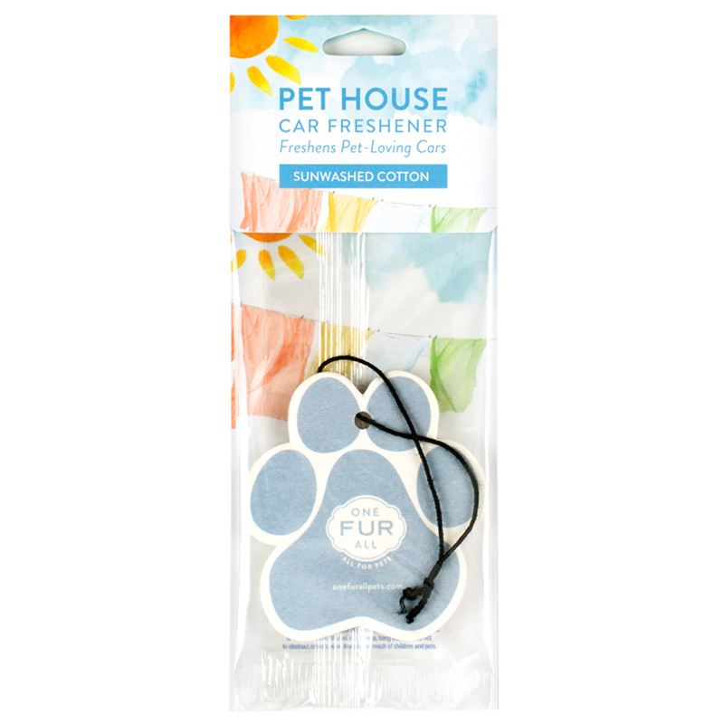 Pet House Car Freshener Sunwashed Cotton I014241