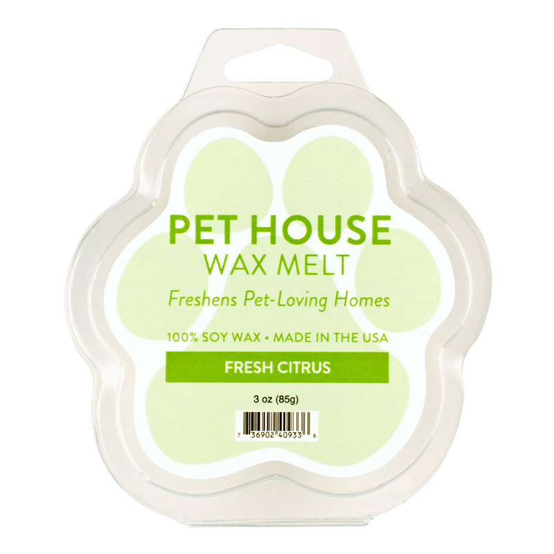Pet House Wax Melt Fresh Citrus I014243