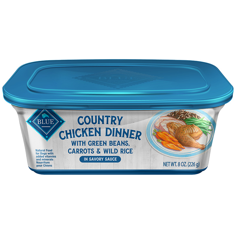 Blue Buffalo Country Chicken Dinner Dog Food 8oz.