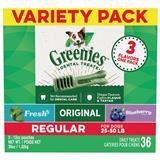 Greenies Regular Variety Pk. 36 oz. I014261