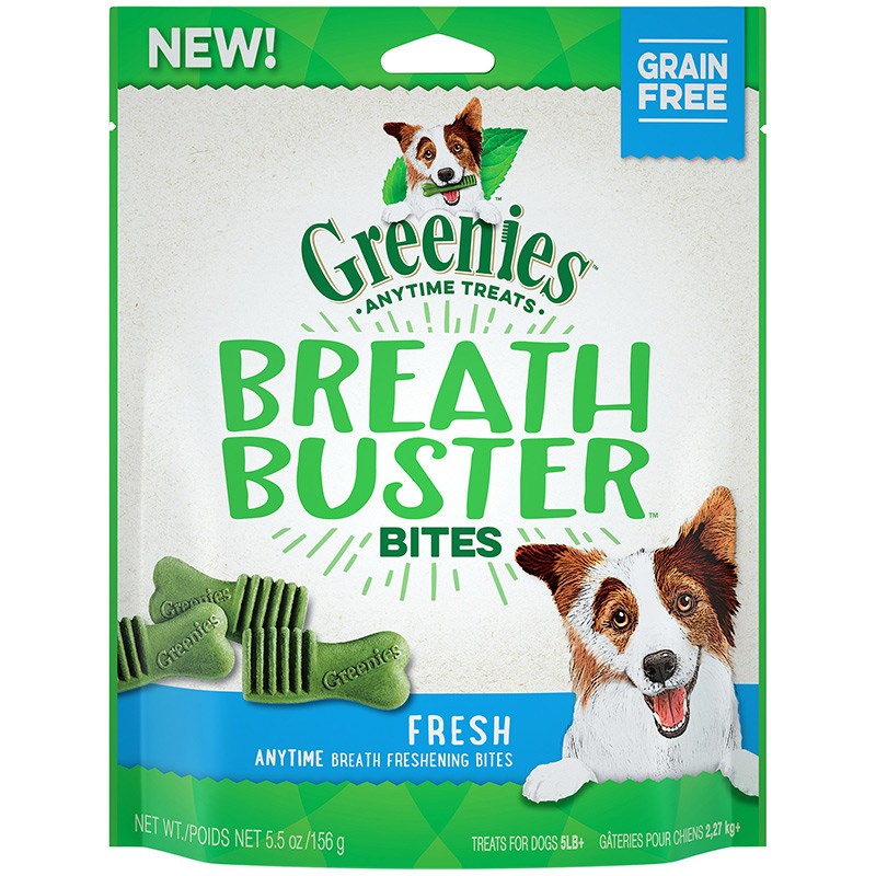Greenies Breath Buster Bites Fresh Dog Treat I014271b