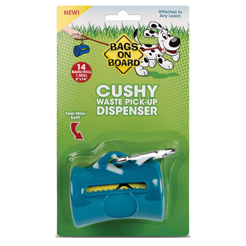 Bags on Board®Cushy Dog Poop Dispenser Teal I014284