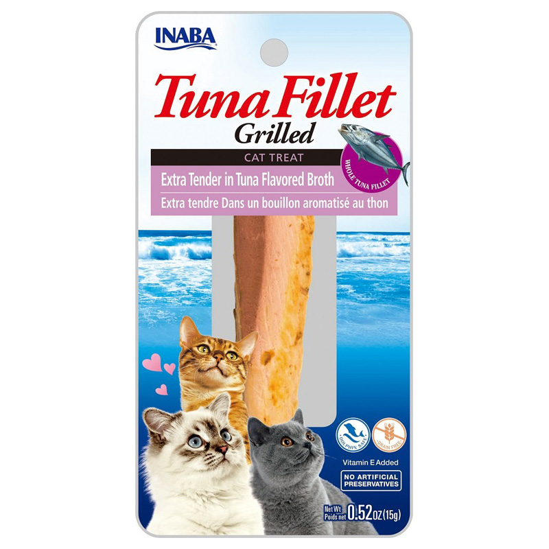 Inaba Ciao Cat Grilled Extra Tender Tuna Treat .5oz I014291