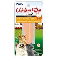 Inaba Ciao Cat Grilled Tender Chicken Treat .5oz I014294
