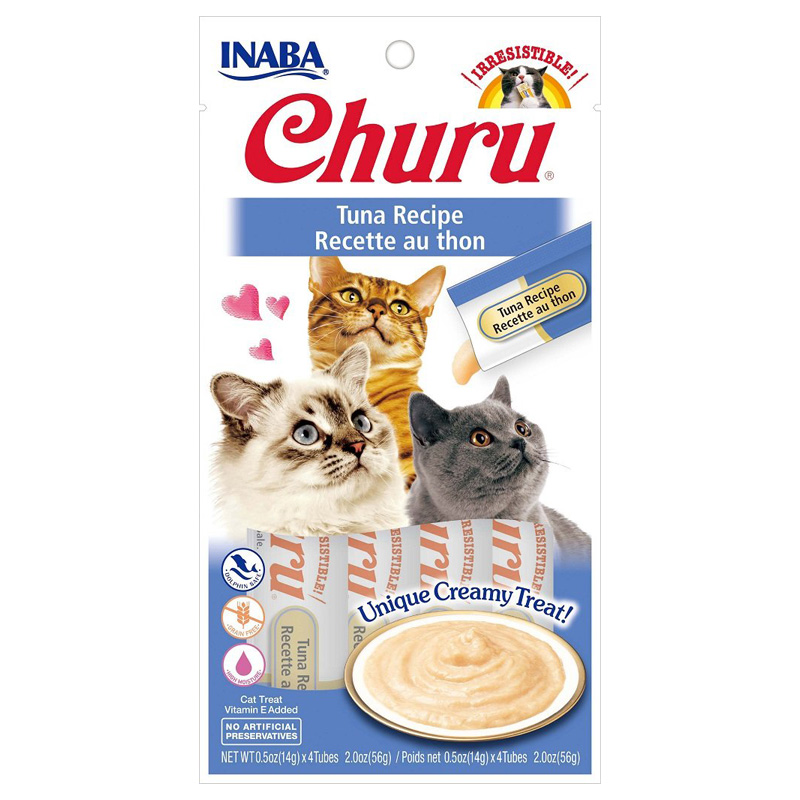 Inaba Ciao Churu Tuna Cat Treat .5oz I014295