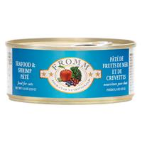 Fromm Four-Star Nutritionals Seafood & Shrimp Pate Cat Food 5.5oz I014304