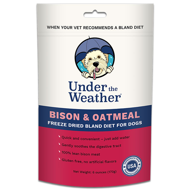 Under The Weather Bison & Oatmeal 6oz. I014361