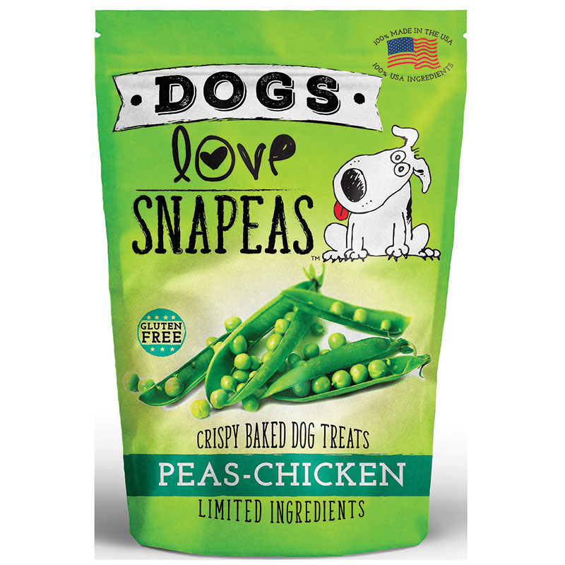 Dogs Love Snapeas and Chicken Dog Treat 2.5oz I014368