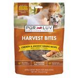 Pur Luv Harvest Bites Chicken & Ancient Grains Recipe with Sweet Potato Bites 18 oz I014396