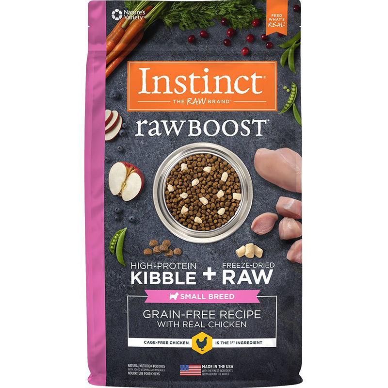 Instinct Raw Boost Grain-Free Recipe with Real Chicken Small Breed I014402b