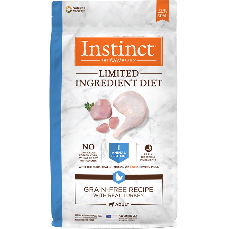 Nature's Variety Instinct Limited Ingredient Diet Grain-Free Recipe with Real Turkey I014416b