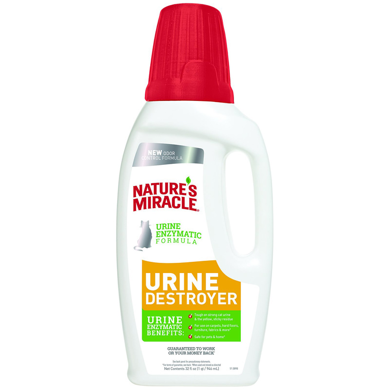 Nature's Miracle® Just For Cats Urine Destroyer 32oz I014456