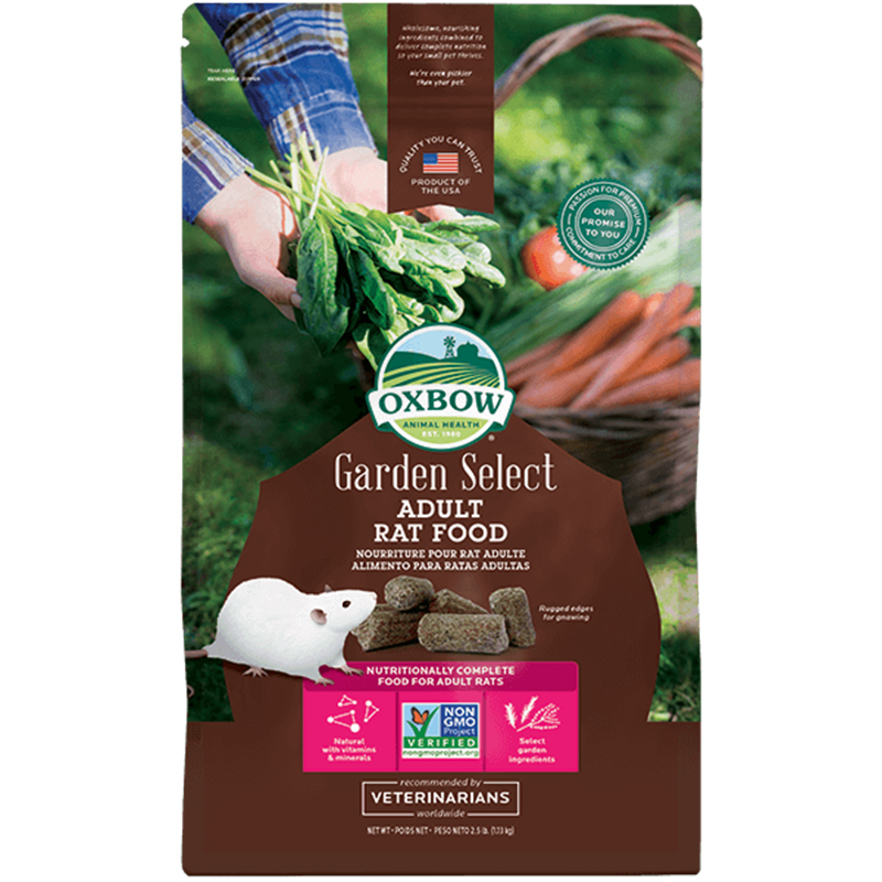 Oxbow Garden Select Adult Rat Food 2.5 lbs. I014484