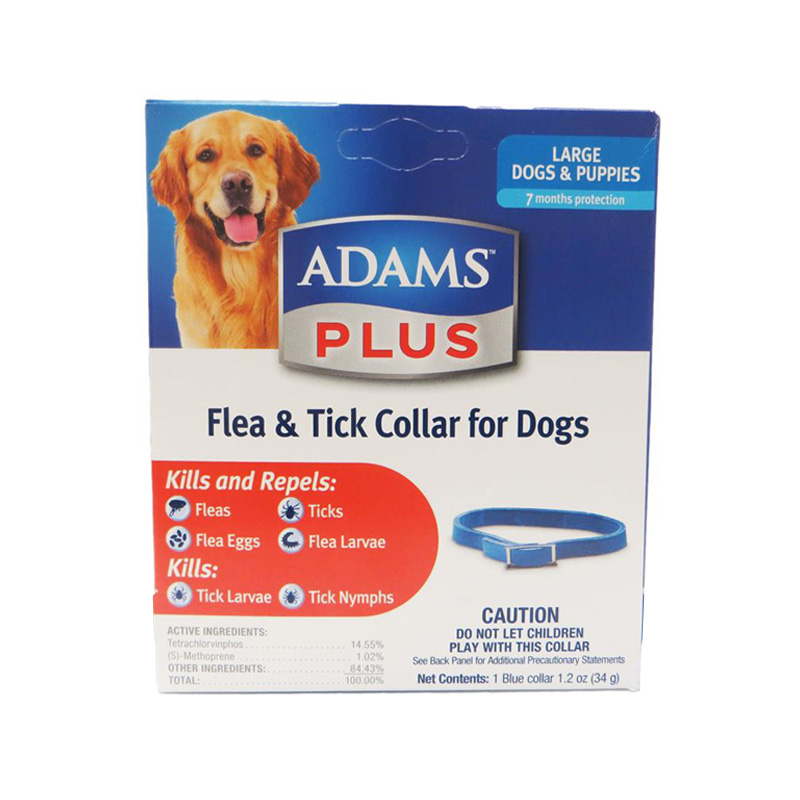 Adams Plus Flea & Tick Collar Large Dog  I014487
