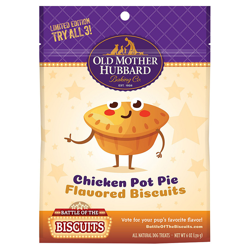Old Mother Hubbard Limited Edition Chicken Pot Pie Natural Dog Treat I014532