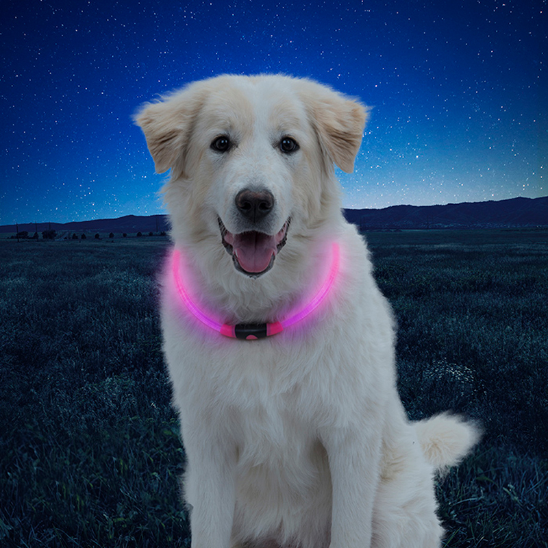 NiteHowl LED Safety Necklace Pink I014544