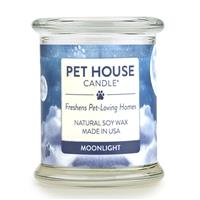 One Fur All Pet House Candle Moonlight Candle 8.5 oz.  I014551