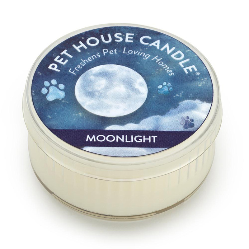 One Fur All Pet House Candle Moonlight Tea Candle 1.5 oz. I014555