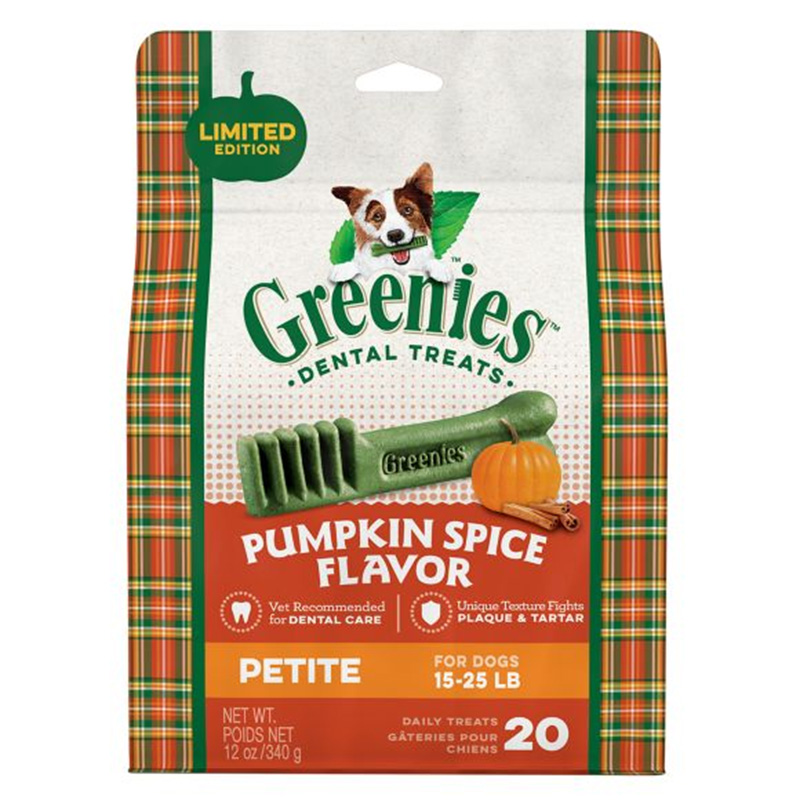 Greenies Petite Pumpkin Spice 12oz I014606