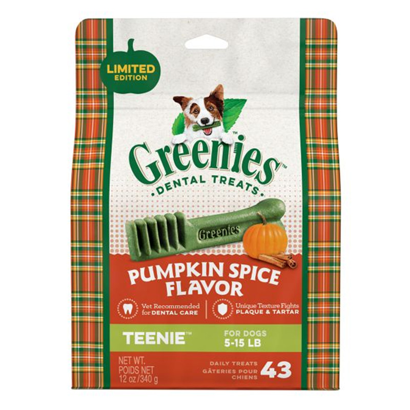 Greenies Teenie Pumpkin Spice 12oz I014607