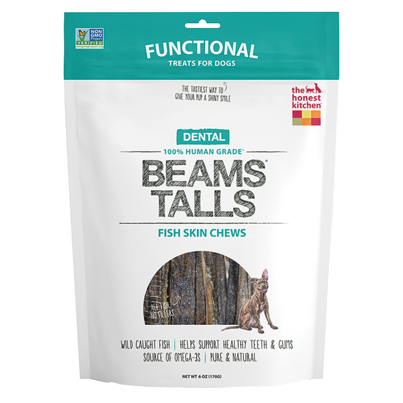 The Honest Kitchen Beams Talls Fish Chew 6 oz I014616