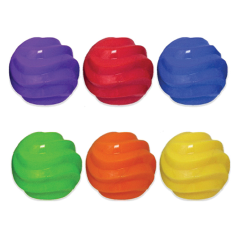 Multipet Ruff Enuff Spiral Ball 4 in. I014870