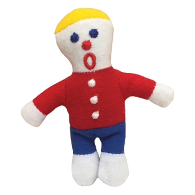 Multipet Mr. Bill Cat Toy 4 in I014873