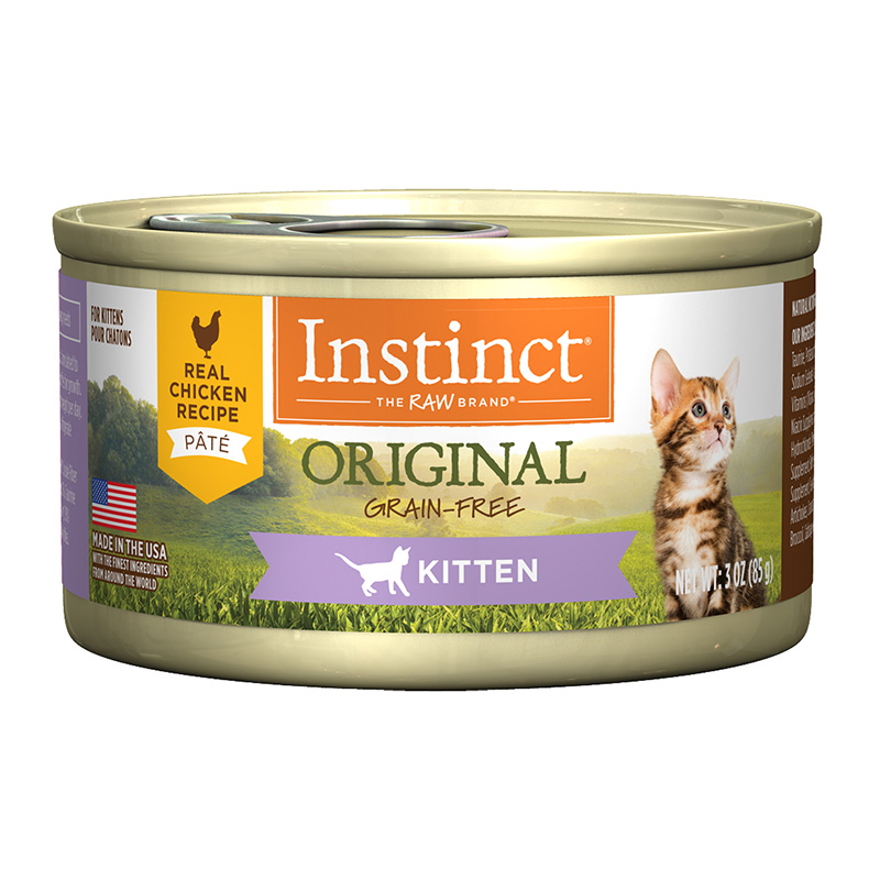 Nature's Variety Kitten Grain-Free Real Chicken Recipe Wet Canned Cat Food 3 oz. I014948