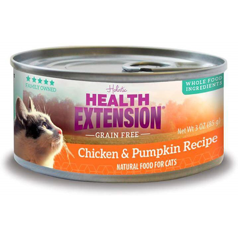 Health Extension Grain Free Chicken & Pumpkin Recipe 3 oz. I014951
