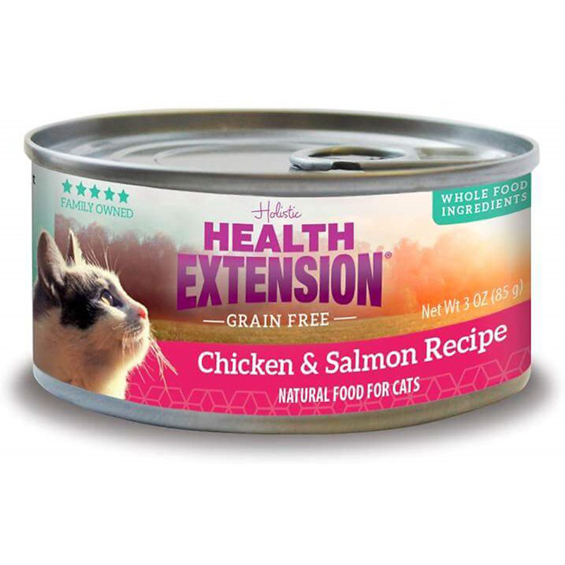Health Extension Grain Free Chicken & Salmon Recipe 3 oz. I014952