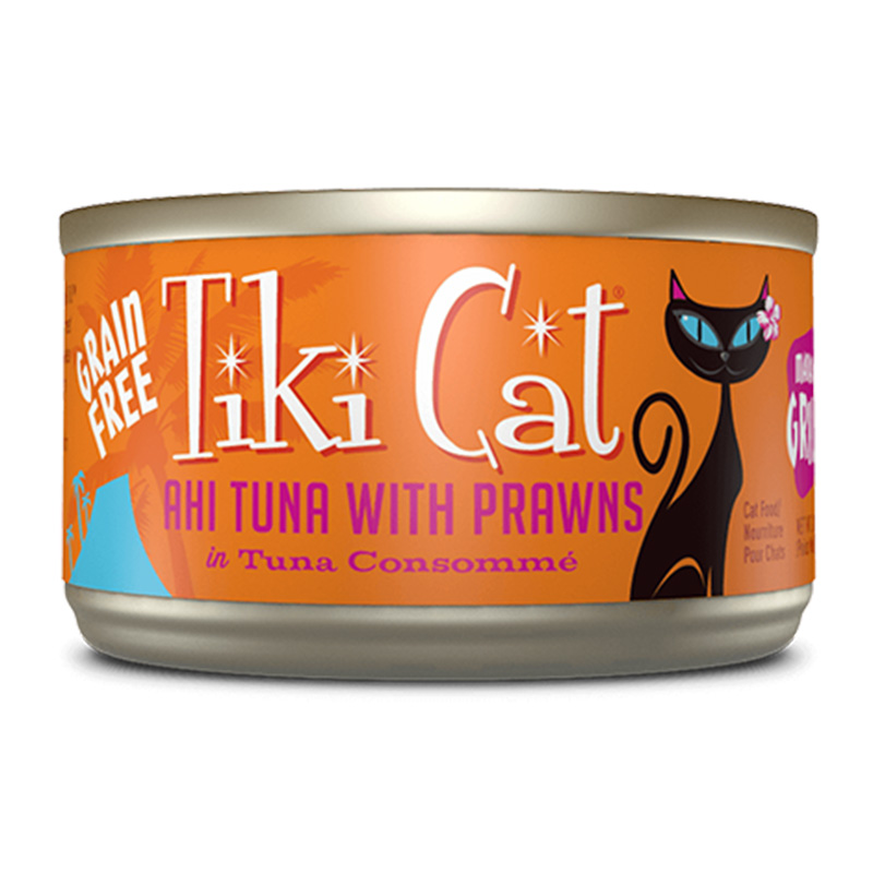 Tiki Cat® Manana Grill™ Ahi Tuna with Prawns Grain Free 2.8 oz. I014977