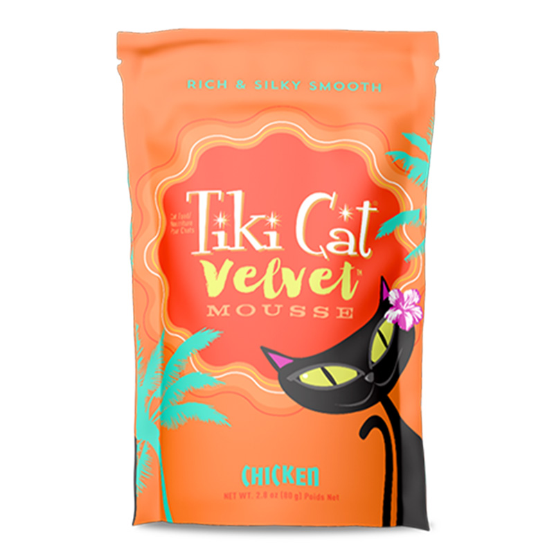 Tiki Cat® Velvet Mousse™ Chicken Grain Free 2.8 oz. I014989