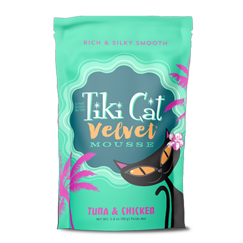 Tiki Cat® Velvet Mousse™ Tuna & Chicken Grain Free 2.8 oz. I014991