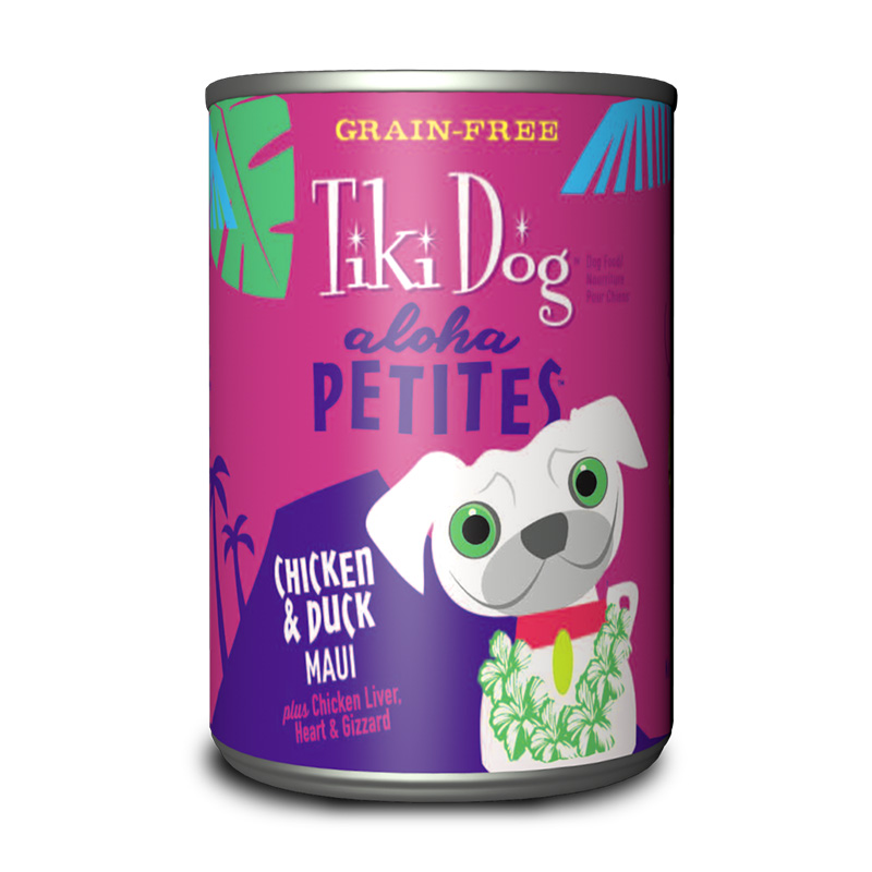 Tiki Dog™ Aloha Petites™ Chicken & Duck Maui Wet Dog Food 9 oz. Can I015011