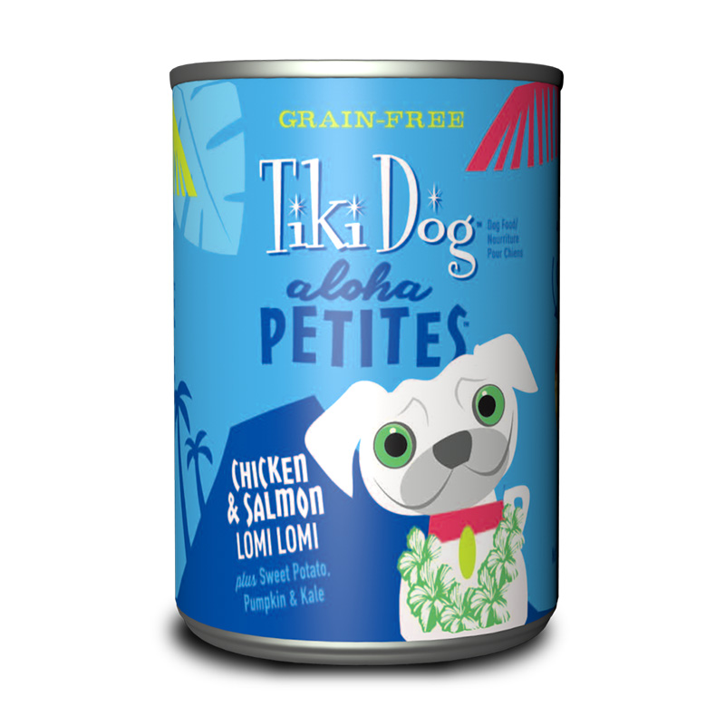 Tiki Dog™ Aloha Petites™ Chicken & Salmon Lomi Lomi GF Wet Dog Food 9 oz. I015012