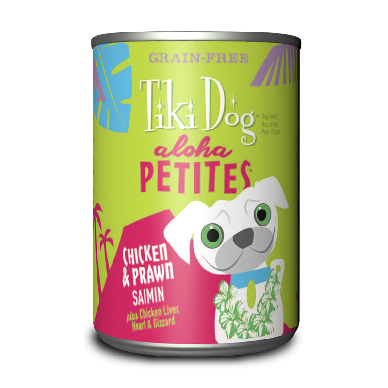 Tiki Dog™ Aloha Petites™ Chicken & Shrimp Saimin GF Wet Dog Food 9 oz. I015014
