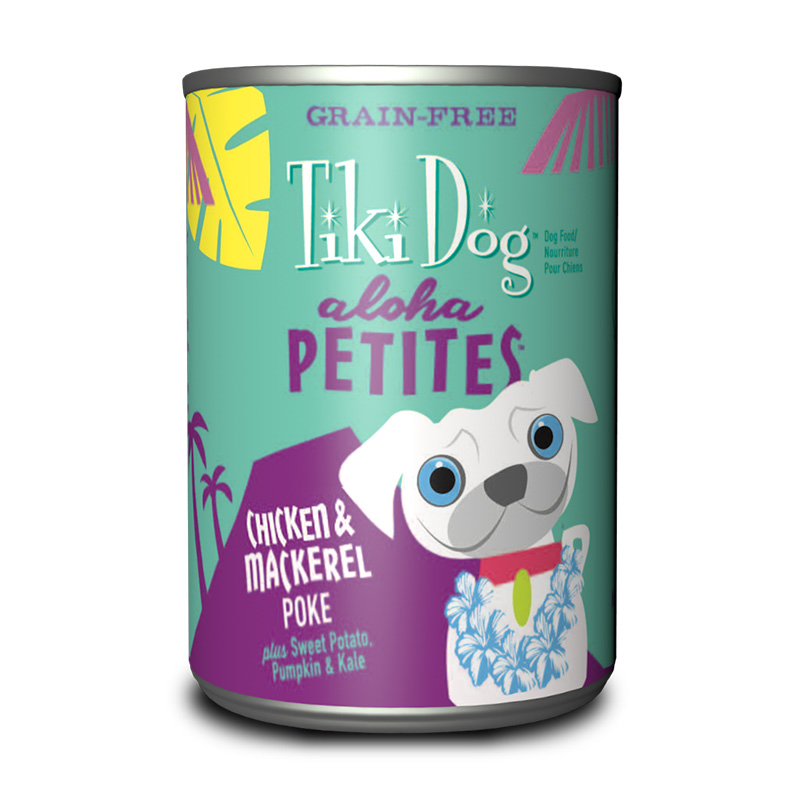 Tiki Dog™ Aloha Petites™ Chicken & Mackerel Poke GF Wet Dog Food 9 oz. Can I015017