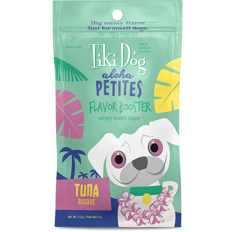 Tiki Dog Aloha Petites Flavor Booster Tuna Bisque 1.5 oz I015039