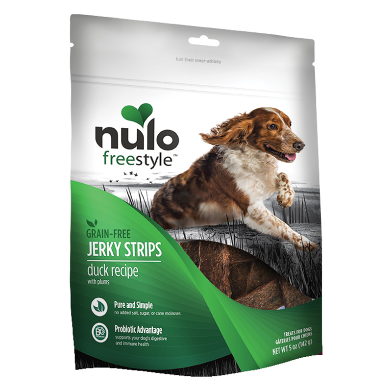 Nulo Freestyle Jerky Strips Duck Recipe with Plums 5oz. I015067