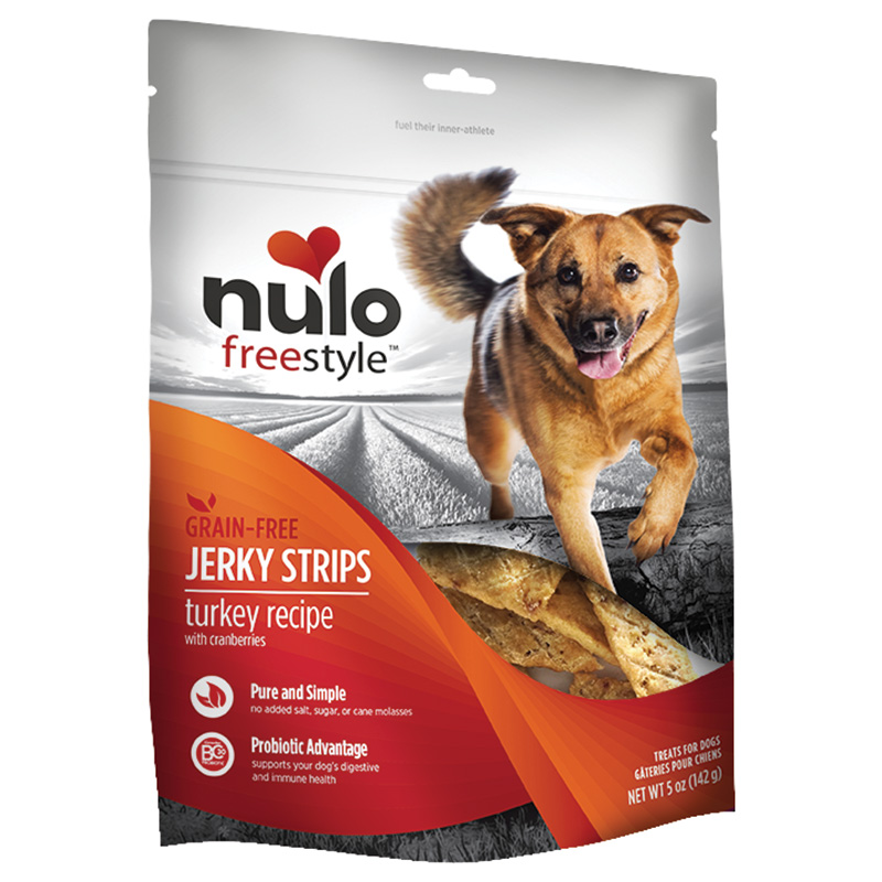 Nulo Freestyle Jerky Strips Turkey Recipe with Cranberries 5oz. I015069