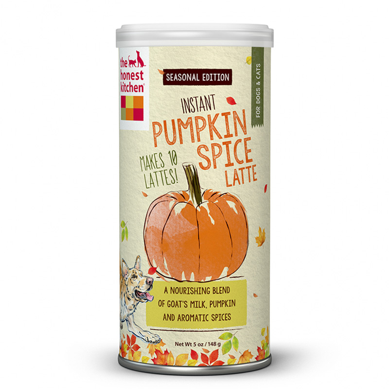The Honest Kitchen Instant Pumpkin Latte Goat's Milk With Pumpkin Spice 5 oz Can I015079