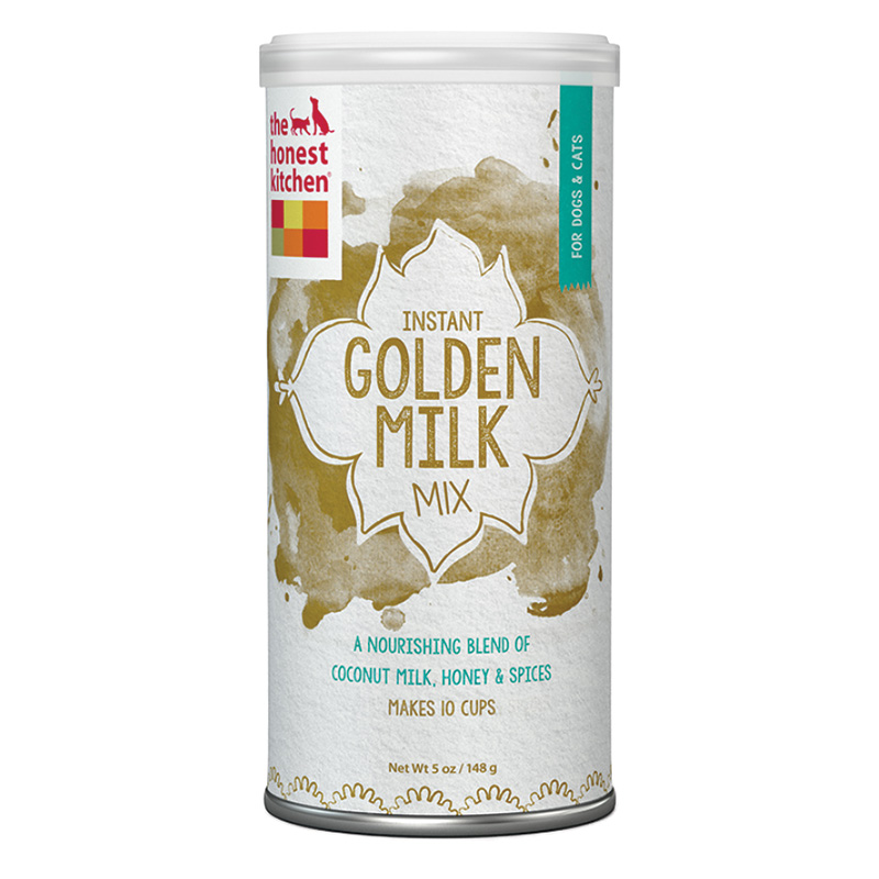 The Honest Kitchen Instant Golden Milk With Coconut Milk, Honey & Spices 5 oz can I015081