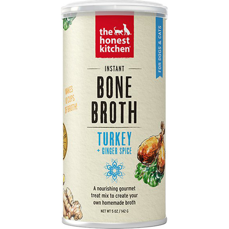 The Honest Kitchen Bone Broth Turkey with Ginger 5 oz can I015131