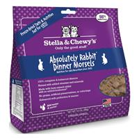 Stella & Chewy's® Freeze Dried Rabbit Dinner Morsels I015175B